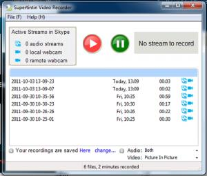 Top 3 User Problems for Supertintin Skype Video Recorder