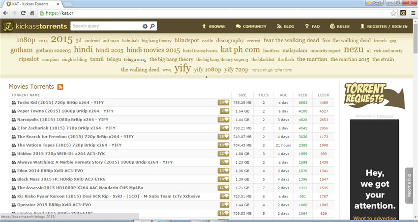 How to Get Kickass Torrents Music and Movies