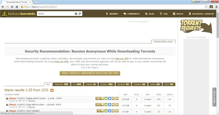 Kickass torrents music and movies