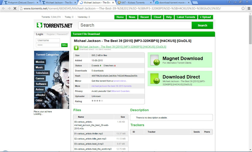 How to Download Video Songs Torrent Easily