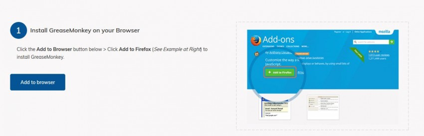 Download Tumblr Videos Firefox - Install GreaseMonkey to Firefox