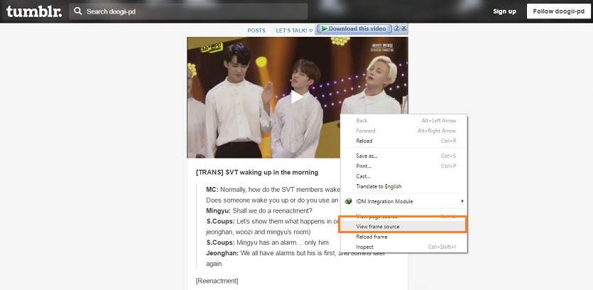 Helpful Tips to Download Videos Off Tumblr - Find Video URL