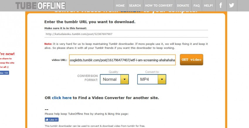All Ways to Download Videos from Tumblr
