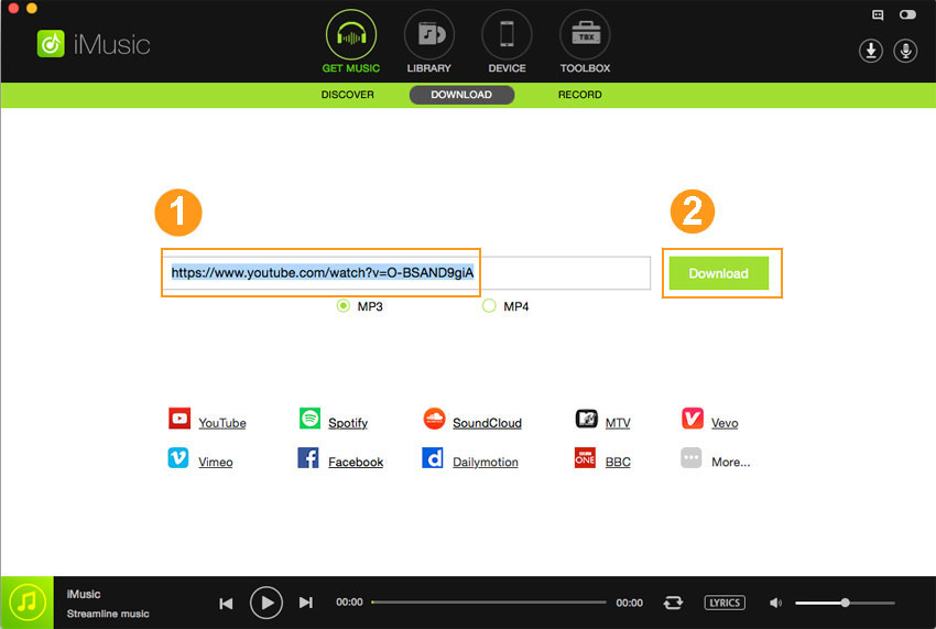 Download MP3 from Tumblr - Paste Tumlr Music URL