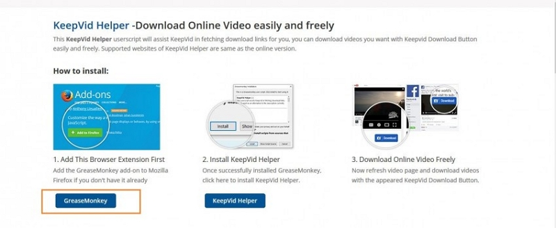 Vimeo Downloader for Firefox
