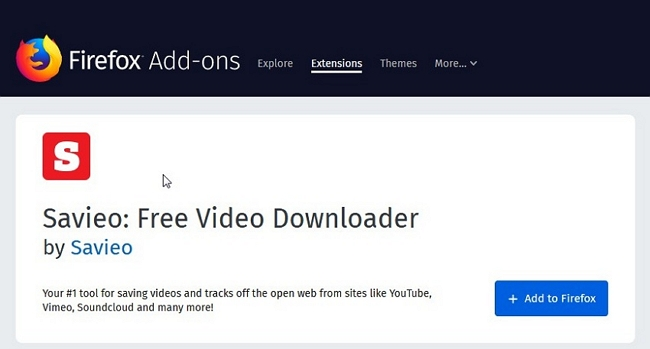 Other 9 Best Vimeo Video Downloader for Mozilla Firefox - Savieo