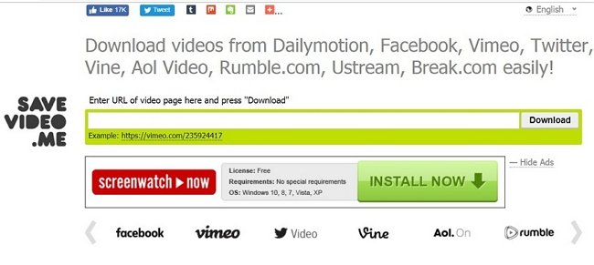 Other 9 Best Vimeo Video Downloader for Mozilla Firefox - SaveVideo.me