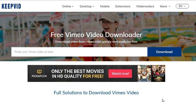 Other 9 Best Vimeo Video Downloader for Mozilla Firefox - KeepVid