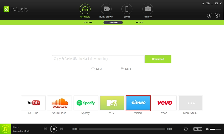 download audio from vimeo - Select Vimeo