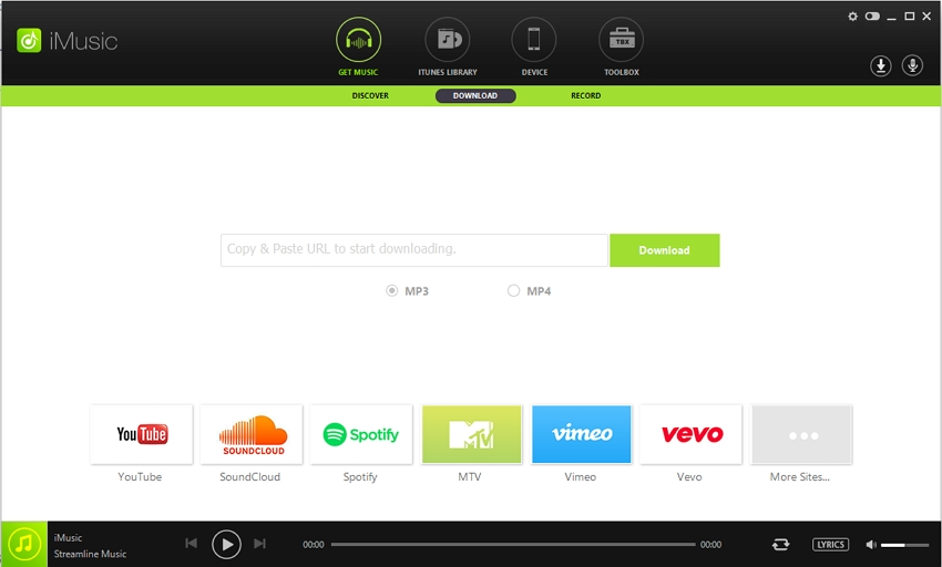 download audio from vimeo - Step 1