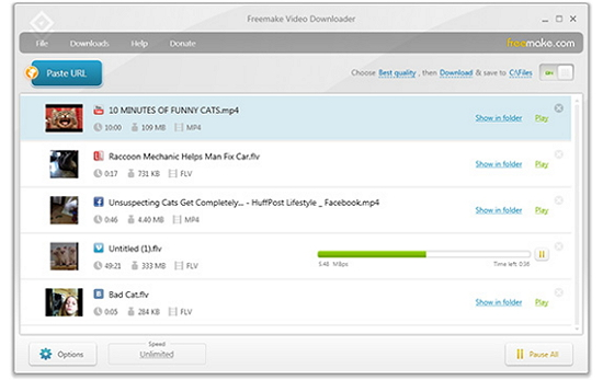 download audio from vimeo - Freemake Video Downloader
