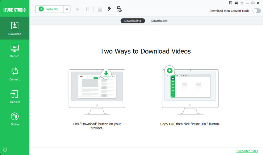 YouTube to AVI Downloaders - iTube HD Video Downloader