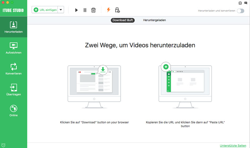 video von website downloaden mac