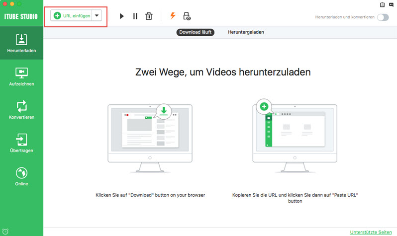 Kostenloser YouTube Download-Manager – Laden Sie YouTube-Videos kostenlos herunt