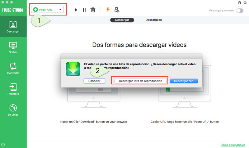 programa para descargar playlist de youtube