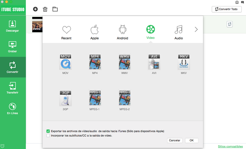 El mejor programa para descargar de Dailymotion en Mac OS X (10.12 macOS Sierra)