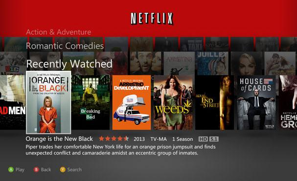 How to Use Services Like Netflix on Xbox