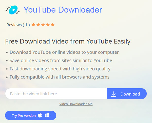 youtube video download website list