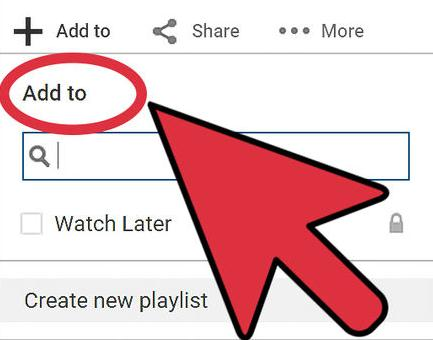 how to add songs to youtube playlist