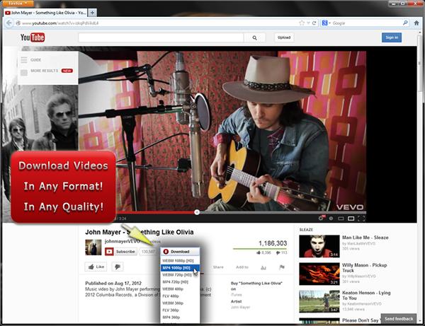 i click youtube video downloader