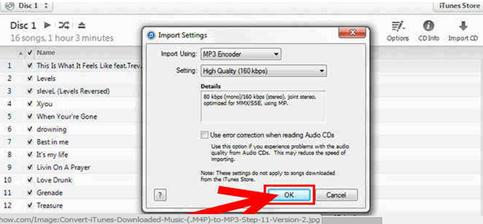 convert protected itunes music to mp3