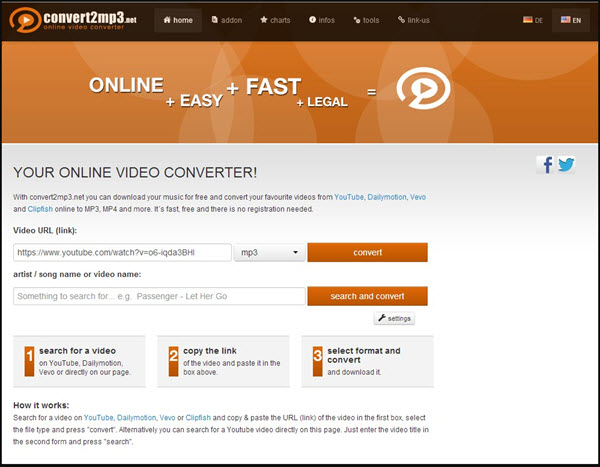 online youtube video free download