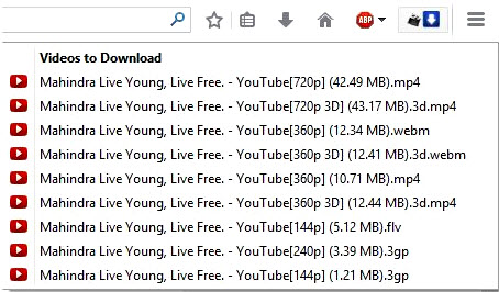 addons for youtube video download