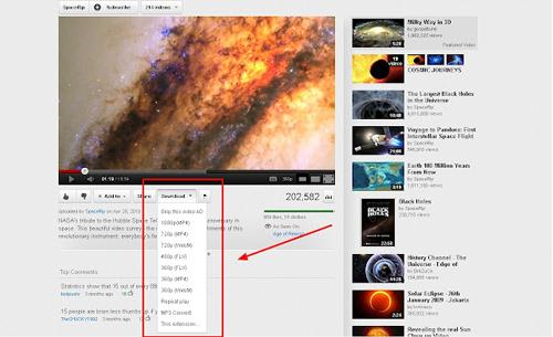 download youtube in chrome