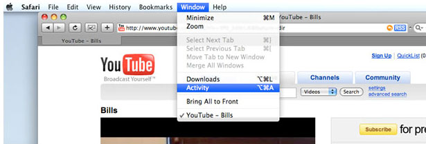 download youtube with safari
