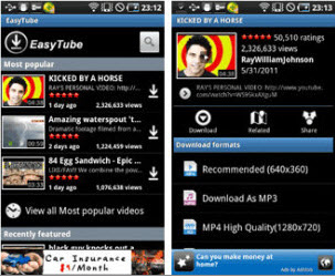 youtube 1080p video er for android