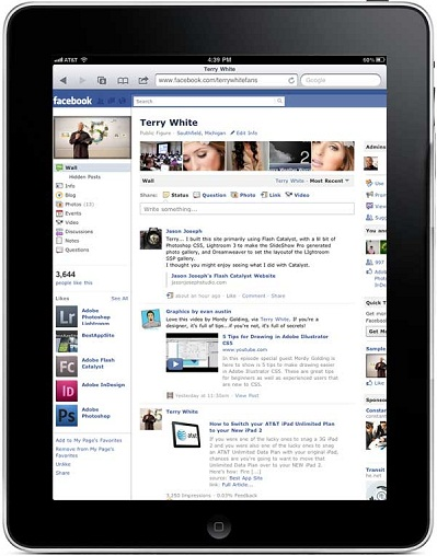facebook chat on ipad
