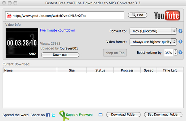 Fastest YouTube Downloader