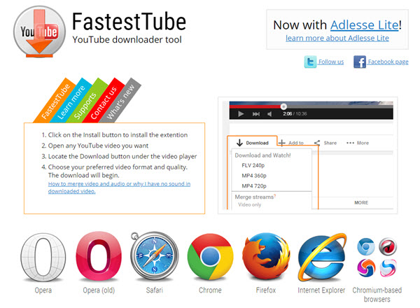 youtube downloader for safari extension