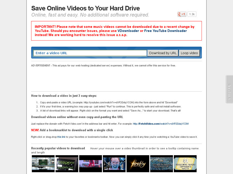 websites to download videos