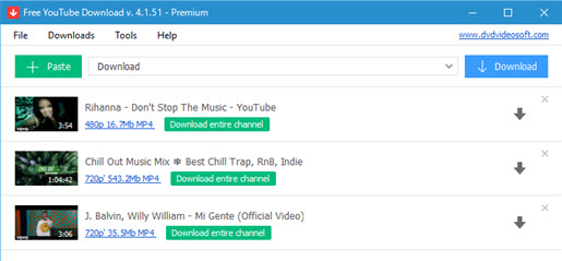 Best 6 Free Music Video Downloader for YouTube and Other Sites