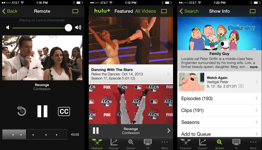 app to watch tv show iphone
