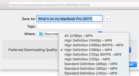 youtube download mac app