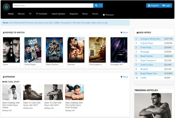 watch movies online free without download