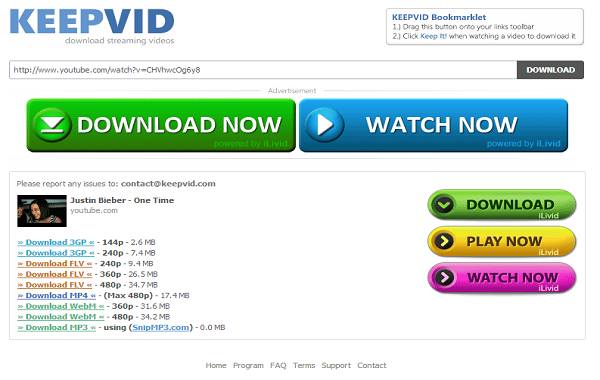 download flash videos online