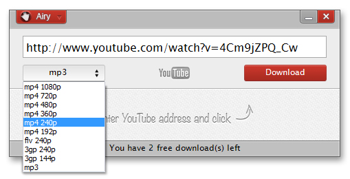 mp3 da youtube estensione chrome