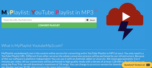 download playlist youtube online