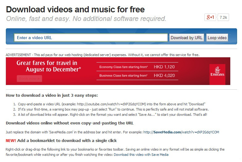youtube downloader for free online