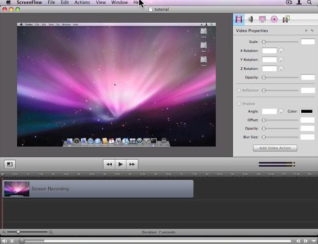 free video recording software for mac