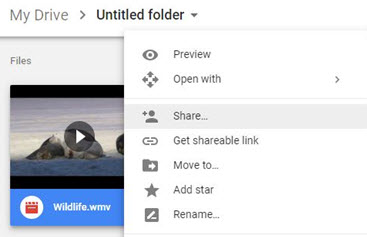 how to upload video to google drive