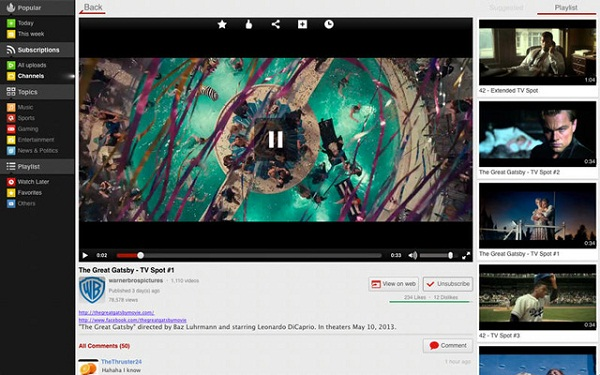 Watch YouTube Videos with the Best YouTube Players