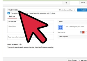 how to upload mp4 to youtube