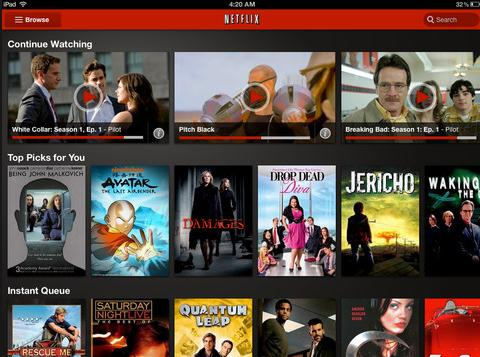 Donwload Netflix Movies to iPad using the Best Netflix