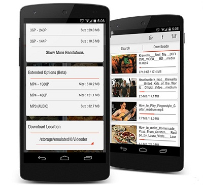 youtube downloader app android google play
