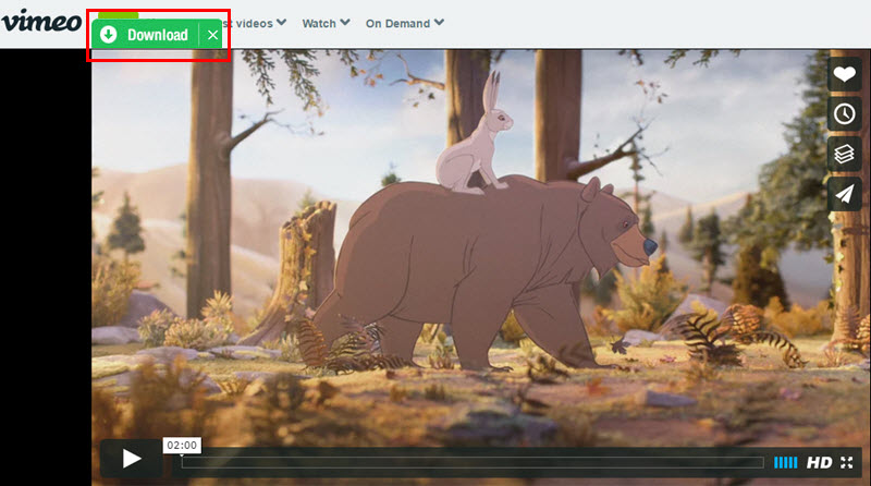 download vimeo in 1 click