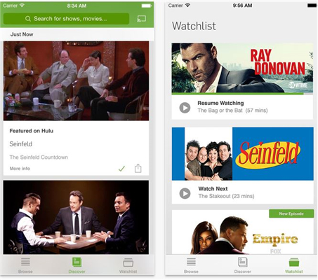 how to watch tv show on iphone